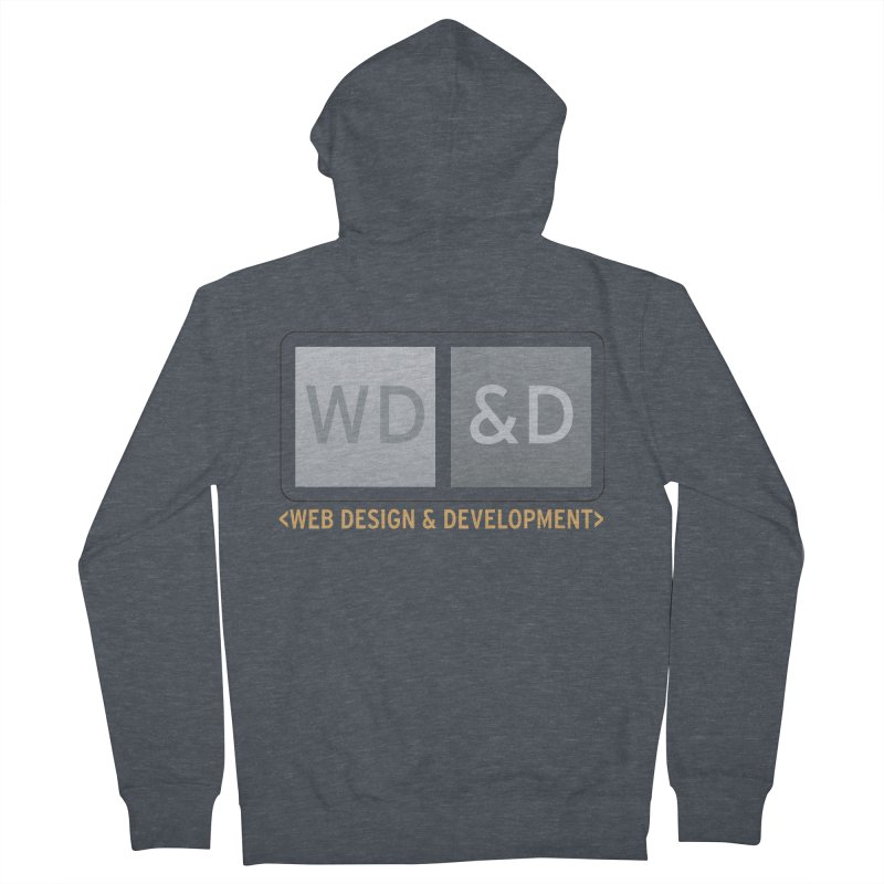WD&D <WEB DESIGN & DEVELOPMENT> Men's French Terry Zip-Up Hoody by Logo Gear & Logo Wear