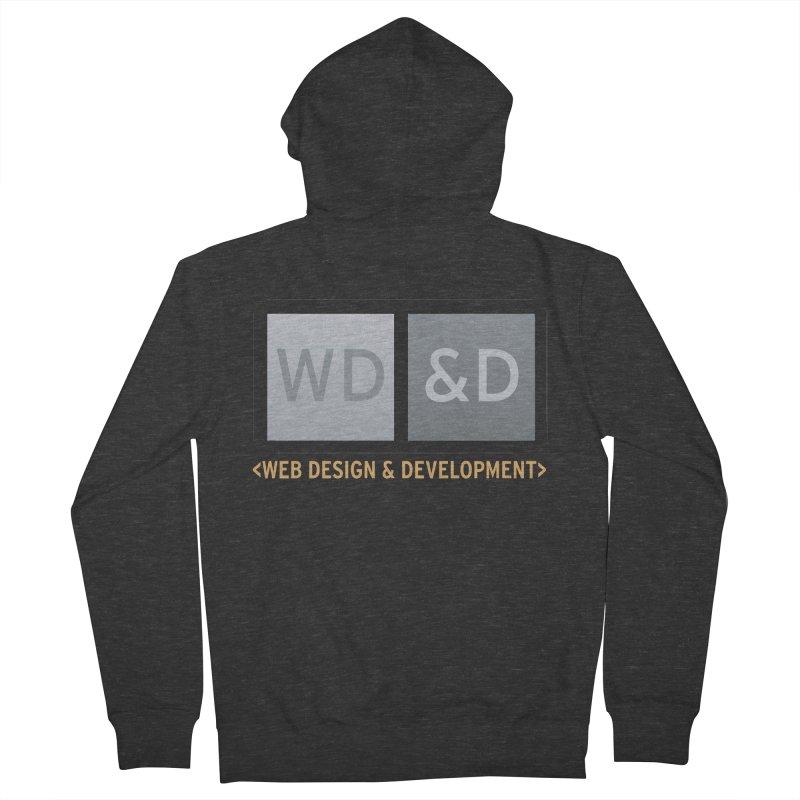 WD&D <WEB DESIGN & DEVELOPMENT> Men's French Terry Zip-Up Hoody by Logo Gear & Logo Wear
