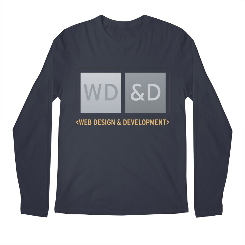 WD&D <WEB DESIGN & DEVELOPMENT> Men's Regular Longsleeve T-Shirt by Logo Gear & Logo Wear
