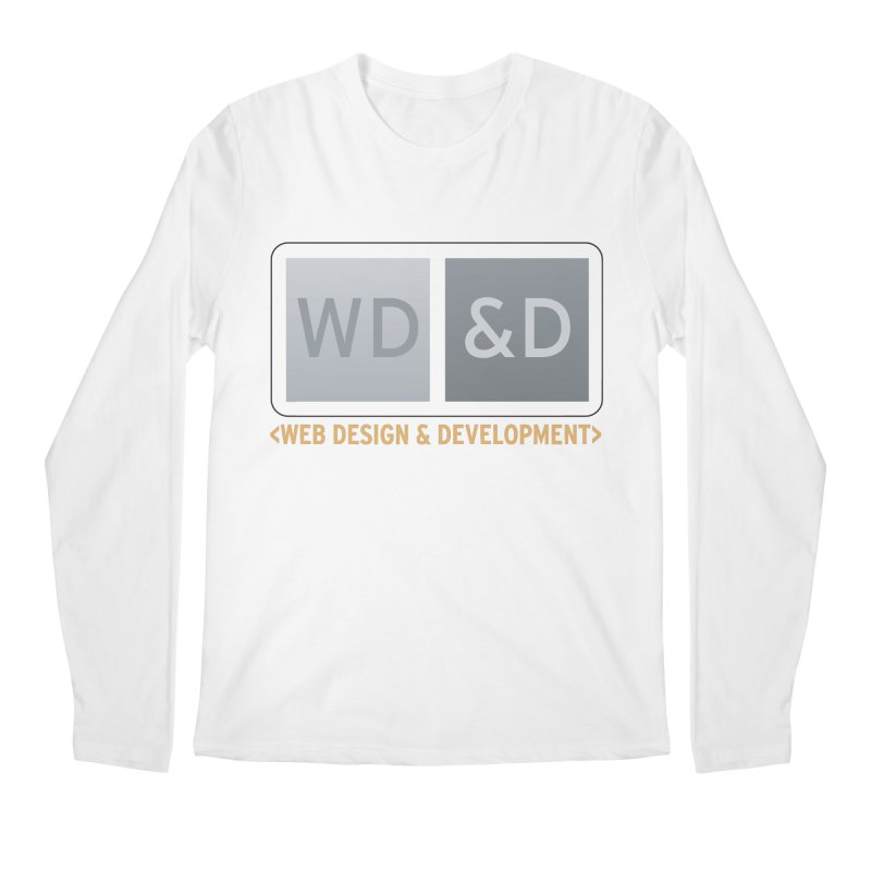 WD&D <WEB DESIGN & DEVELOPMENT> Men's Regular Longsleeve T-Shirt by Logo Gear & Logo Wear