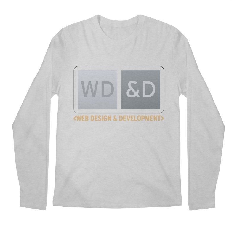 WD&D <WEB DESIGN & DEVELOPMENT> Men's Longsleeve T-Shirt by Logo Gear & Logo Wear