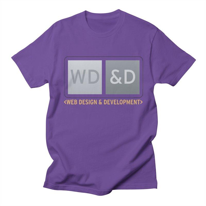 WD&D <WEB DESIGN & DEVELOPMENT> Women's Regular Unisex T-Shirt by Logo Gear & Logo Wear
