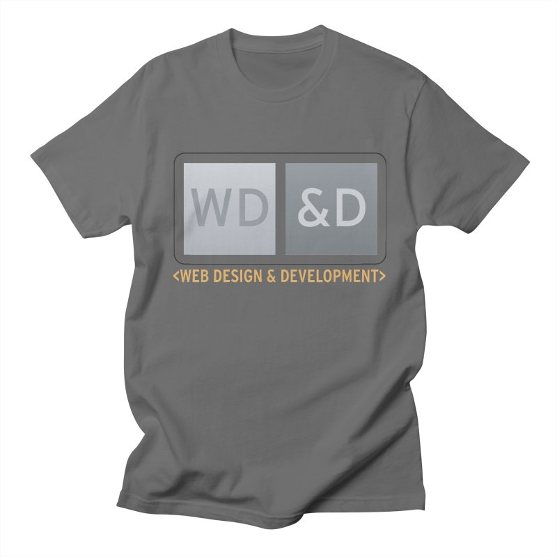 WD&D <WEB DESIGN & DEVELOPMENT> Men's T-Shirt by Logo Gear & Logo Wear
