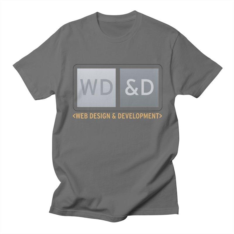 WD&D <WEB DESIGN & DEVELOPMENT> Men's T-Shirt by Logo Gear & Logo Wear