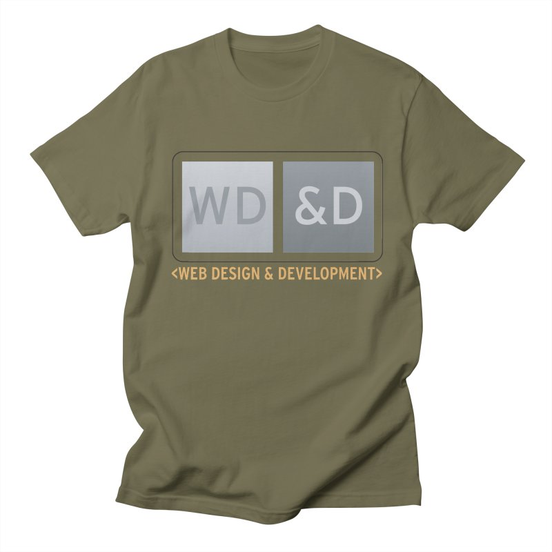 WD&D <WEB DESIGN & DEVELOPMENT> Men's Regular T-Shirt by Logo Gear & Logo Wear