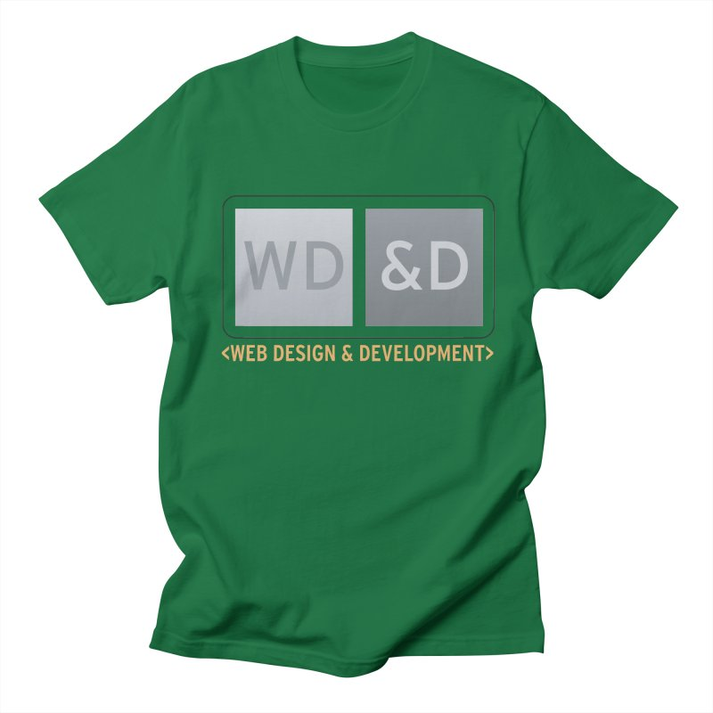 WD&D <WEB DESIGN & DEVELOPMENT> Women's Regular Unisex T-Shirt by Logo Gear & Logo Wear