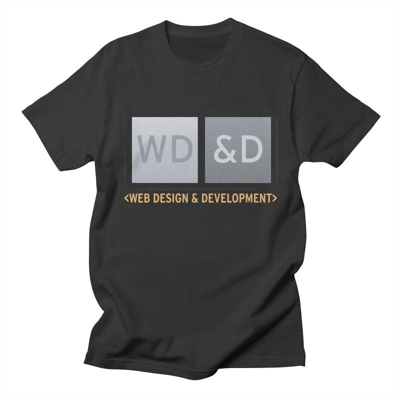 WD&D <WEB DESIGN & DEVELOPMENT> Women's Unisex T-Shirt by Logo Gear & Logo Wear