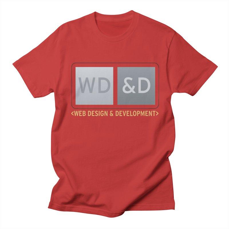 WD&D <WEB DESIGN & DEVELOPMENT> Men's Regular T-Shirt by Logo Gear & Logo Wear