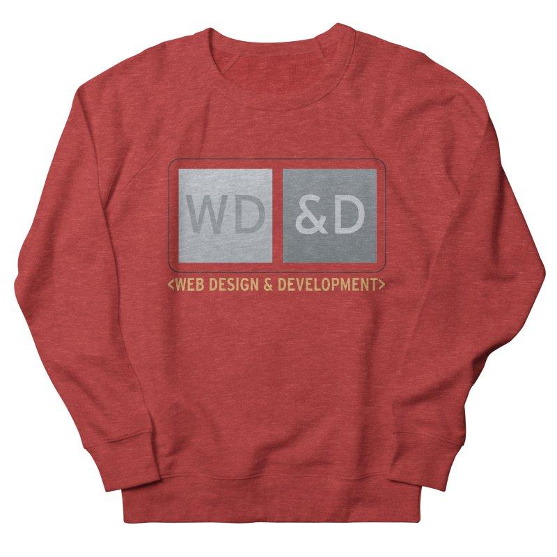 WD&D <WEB DESIGN & DEVELOPMENT> Men's French Terry Sweatshirt by Logo Gear & Logo Wear
