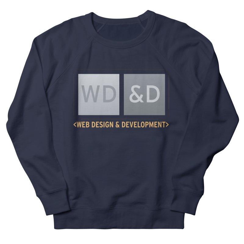 WD&D <WEB DESIGN & DEVELOPMENT> Men's Sweatshirt by Logo Gear & Logo Wear
