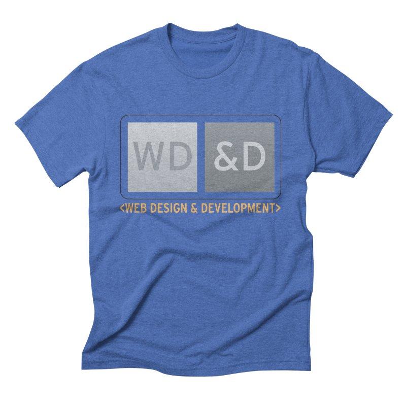 WD&D <WEB DESIGN & DEVELOPMENT> Men's Triblend T-Shirt by Logo Gear & Logo Wear