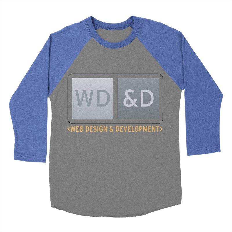 WD&D <WEB DESIGN & DEVELOPMENT> Women's Baseball Triblend T-Shirt by Logo Gear & Logo Wear
