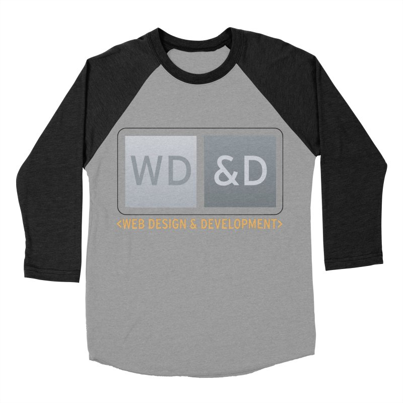 WD&D <WEB DESIGN & DEVELOPMENT> Women's Baseball Triblend Longsleeve T-Shirt by Logo Gear & Logo Wear