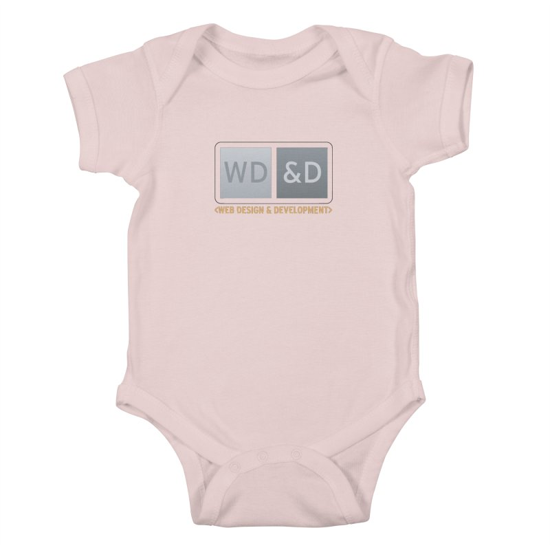 WD&D <WEB DESIGN & DEVELOPMENT> Kids Baby Bodysuit by Logo Gear & Logo Wear