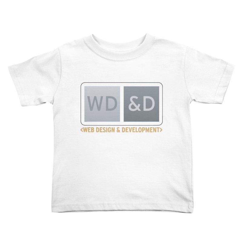 WD&D <WEB DESIGN & DEVELOPMENT> Kids Toddler T-Shirt by Logo Gear & Logo Wear