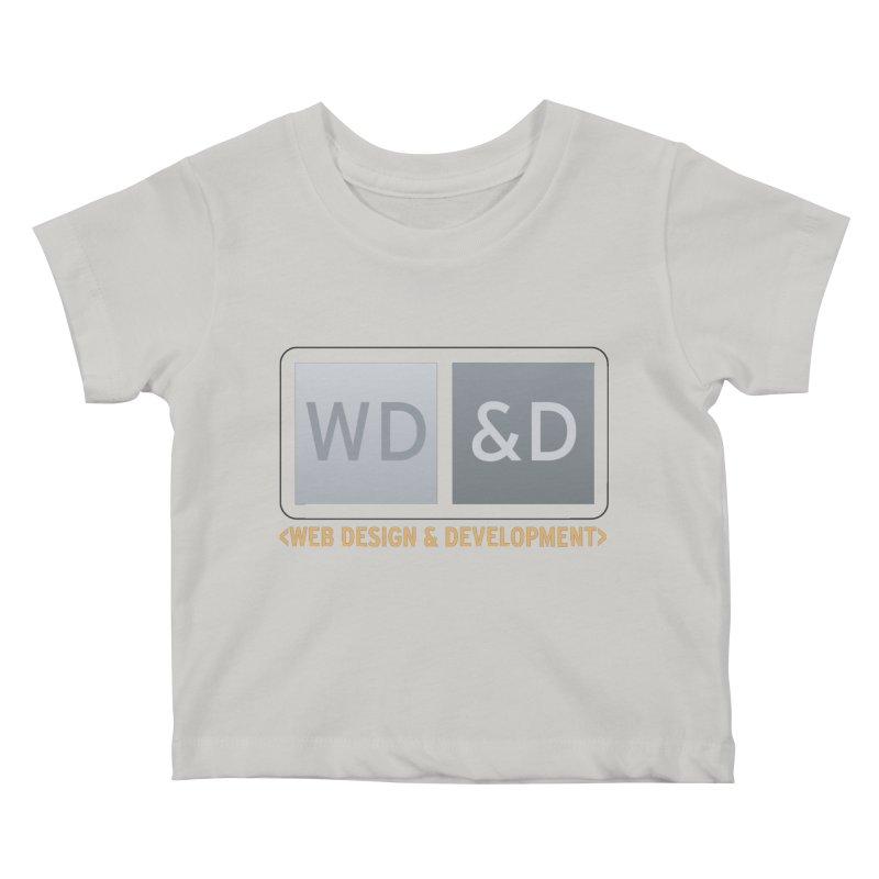 WD&D <WEB DESIGN & DEVELOPMENT> Kids Baby T-Shirt by Logo Gear & Logo Wear