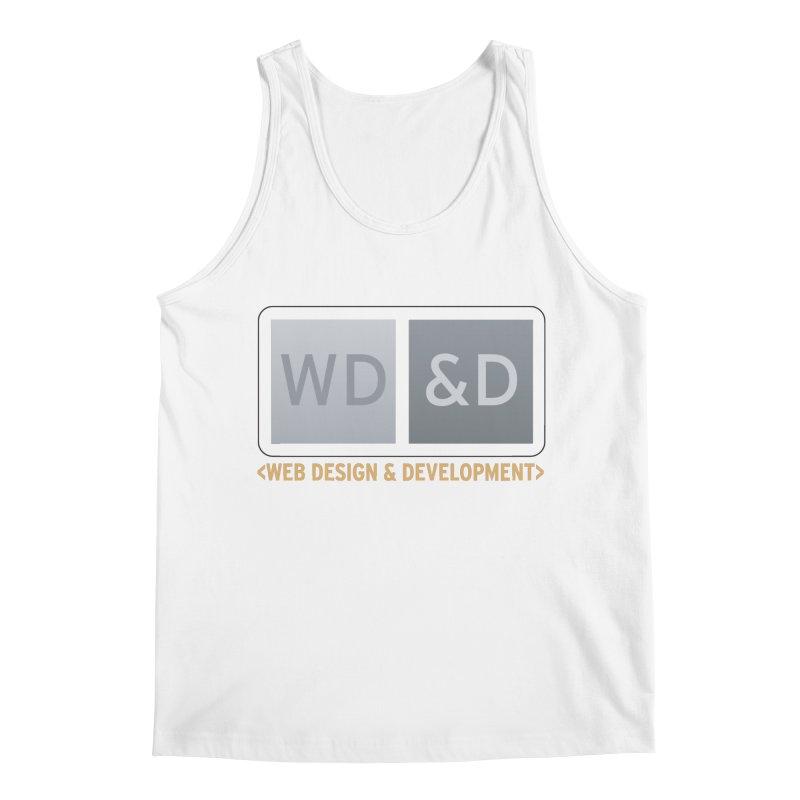 WD&D <WEB DESIGN & DEVELOPMENT> Men's Regular Tank by Logo Gear & Logo Wear