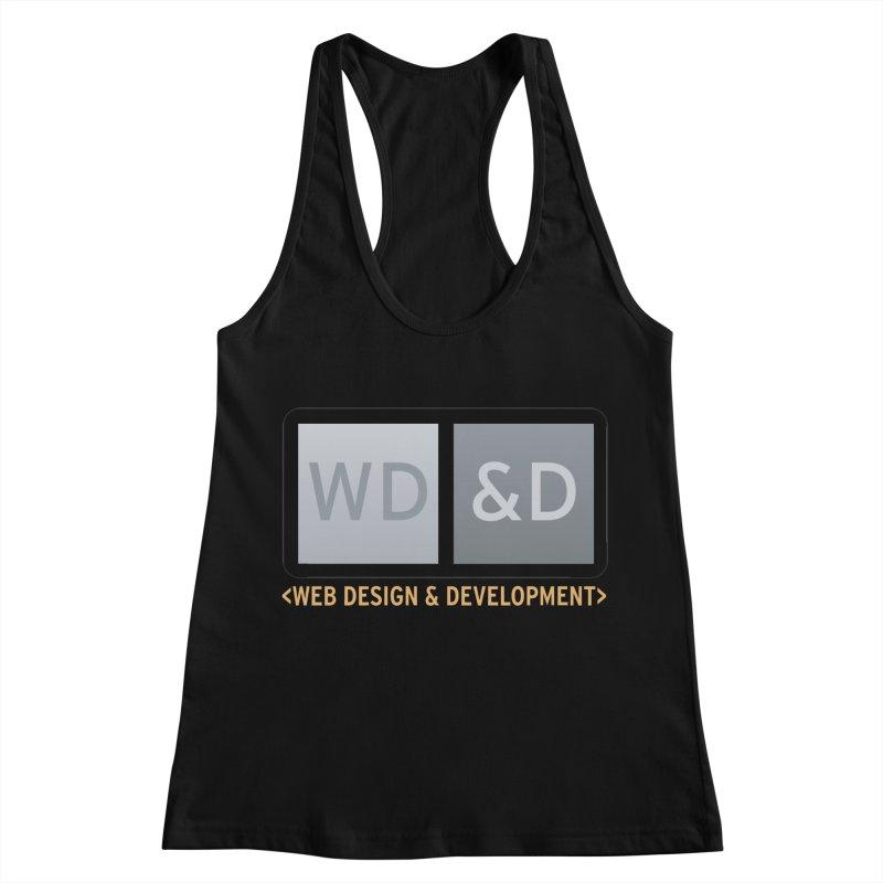 WD&D <WEB DESIGN & DEVELOPMENT> Women's Racerback Tank by Logo Gear & Logo Wear