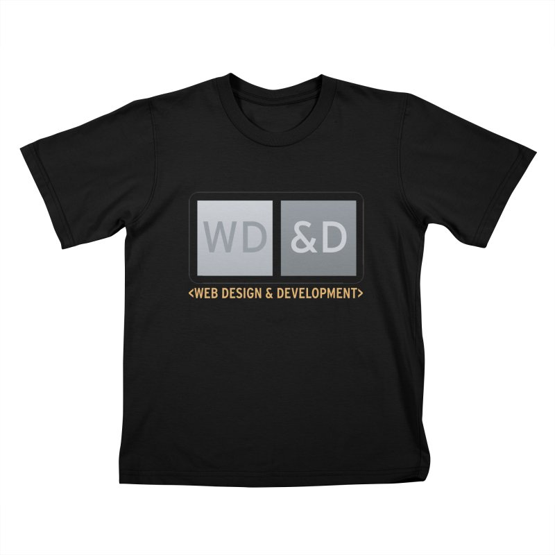 WD&D <WEB DESIGN & DEVELOPMENT> Kids T-Shirt by Logo Gear & Logo Wear