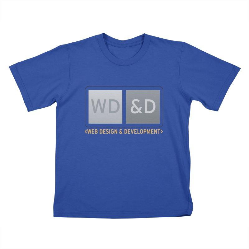 WD&D <WEB DESIGN & DEVELOPMENT> Kids T-Shirt by Logo Gear & Logo Wear