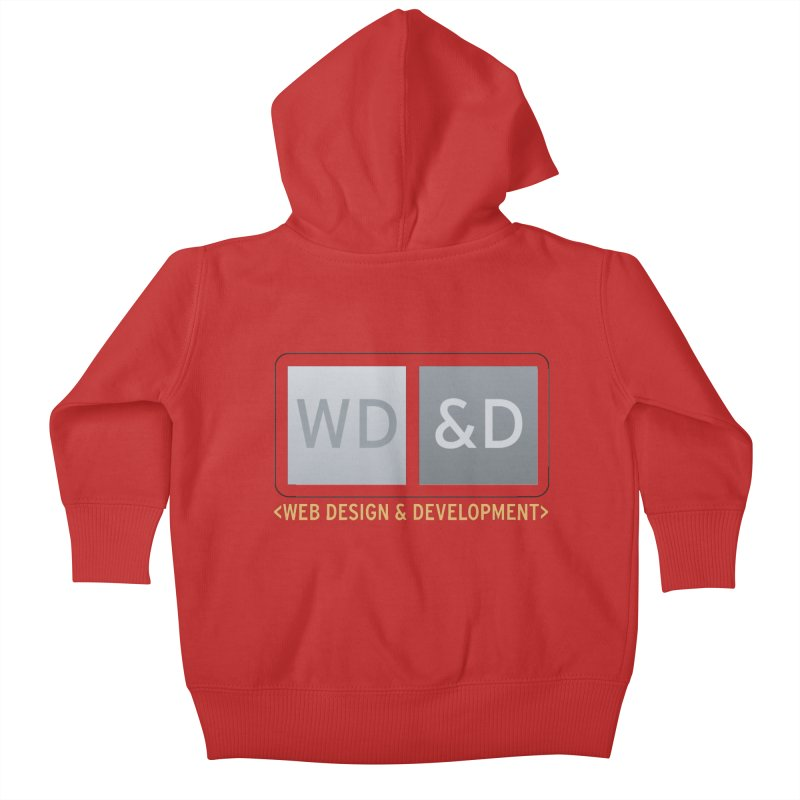 WD&D <WEB DESIGN & DEVELOPMENT> Kids Baby Zip-Up Hoody by Logo Gear & Logo Wear