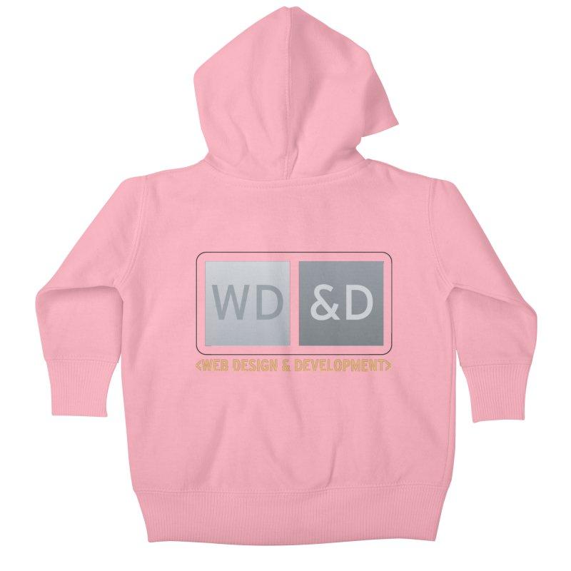 WD&D <WEB DESIGN & DEVELOPMENT> Kids Baby Zip-Up Hoody by Logo Gear & Logo Wear