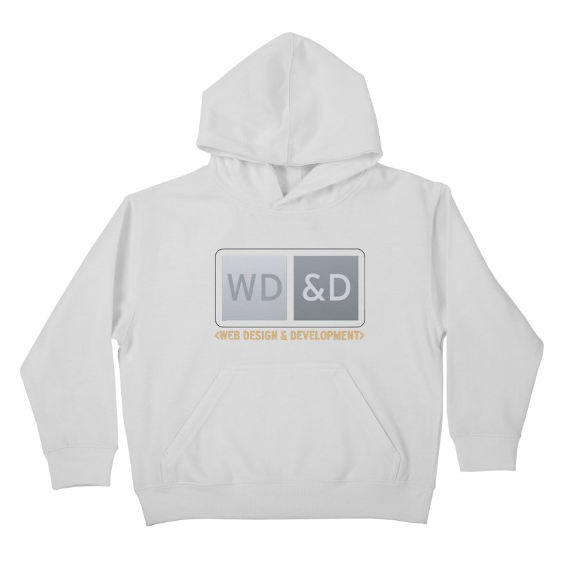 WD&D <WEB DESIGN & DEVELOPMENT> Kids Pullover Hoody by Logo Gear & Logo Wear
