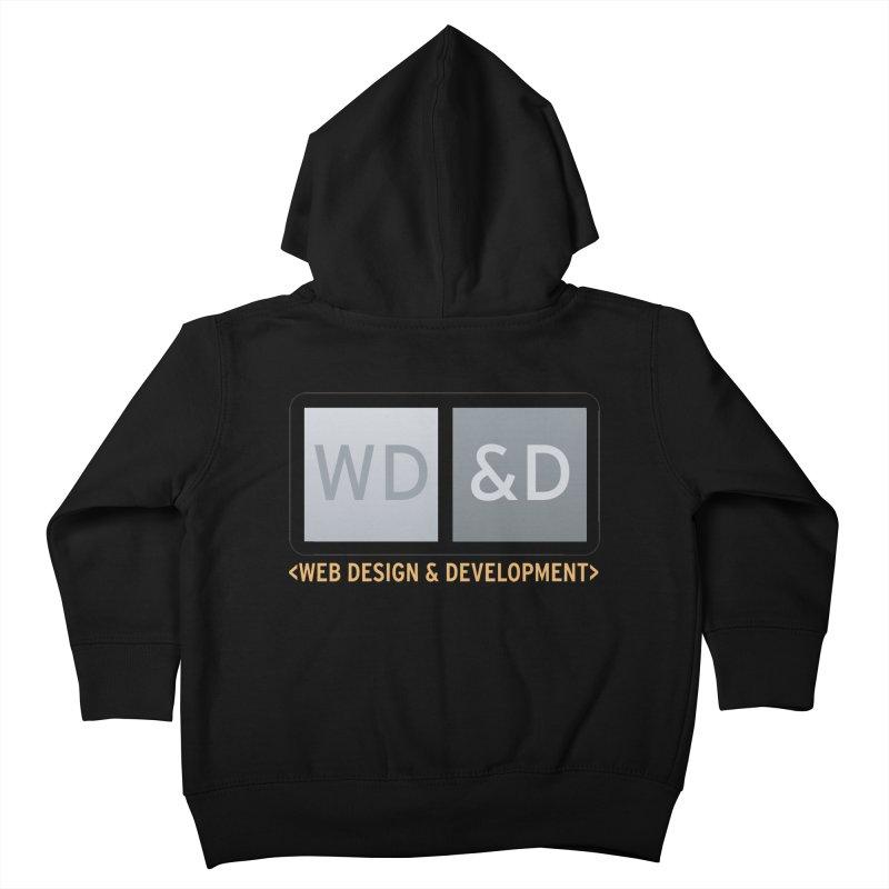 WD&D <WEB DESIGN & DEVELOPMENT> Kids Toddler Zip-Up Hoody by Logo Gear & Logo Wear