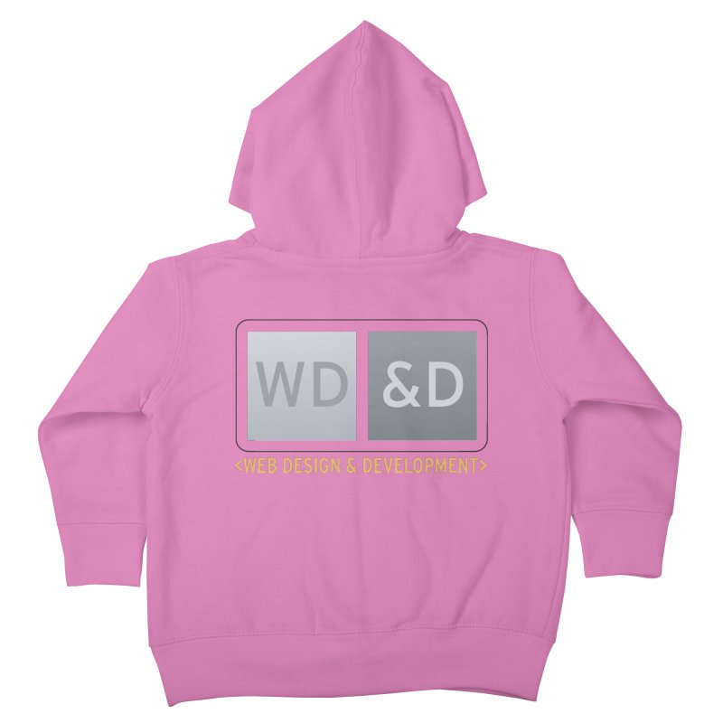 WD&D <WEB DESIGN & DEVELOPMENT> Kids Toddler Zip-Up Hoody by Logo Gear & Logo Wear