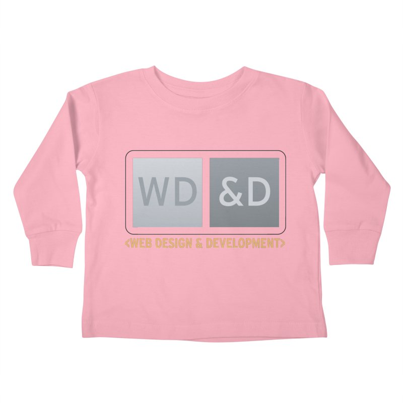 WD&D <WEB DESIGN & DEVELOPMENT> Kids Toddler Longsleeve T-Shirt by Logo Gear & Logo Wear