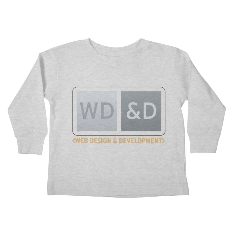 WD&D <WEB DESIGN & DEVELOPMENT> Kids Toddler Longsleeve T-Shirt by Logo Gear & Logo Wear
