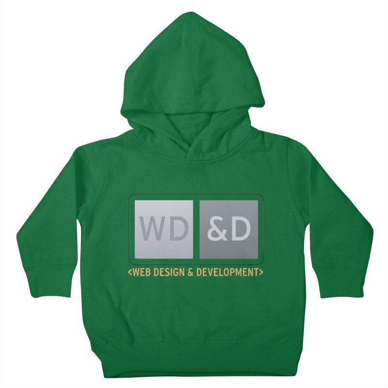 WD&D <WEB DESIGN & DEVELOPMENT> Kids Toddler Pullover Hoody by Logo Gear & Logo Wear