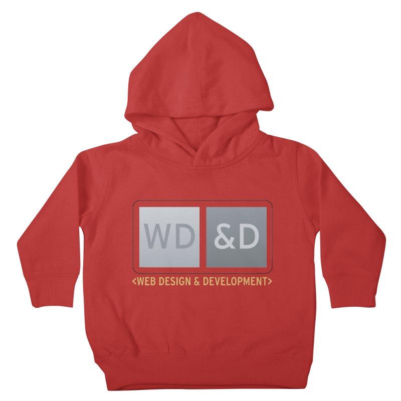 WD&D <WEB DESIGN & DEVELOPMENT> Kids Toddler Pullover Hoody by Logo Gear & Logo Wear