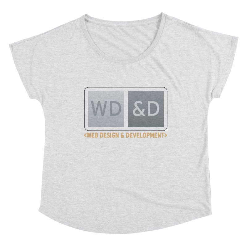 WD&D <WEB DESIGN & DEVELOPMENT> Women's Dolman Scoop Neck by Logo Gear & Logo Wear