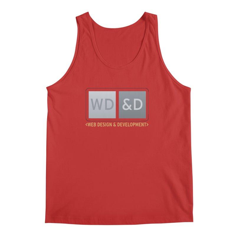 WD&D <WEB DESIGN & DEVELOPMENT> Men's Tank by Logo Gear & Logo Wear