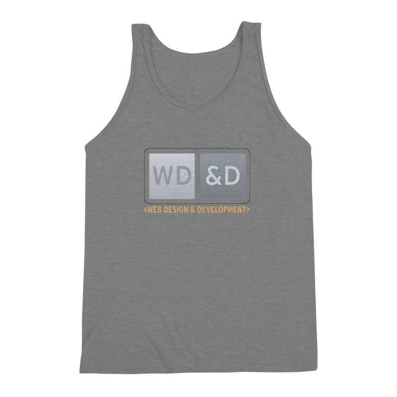 WD&D <WEB DESIGN & DEVELOPMENT> Men's Triblend Tank by Logo Gear & Logo Wear