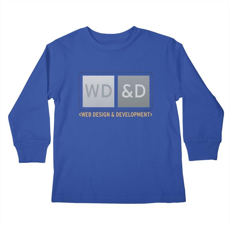 WD&D <WEB DESIGN & DEVELOPMENT> Kids Longsleeve T-Shirt by Logo Gear & Logo Wear