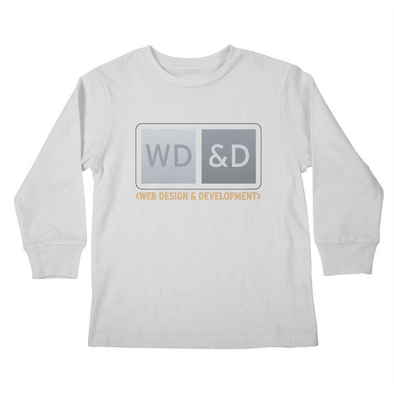 WD&D <WEB DESIGN & DEVELOPMENT> Kids Longsleeve T-Shirt by Logo Gear & Logo Wear