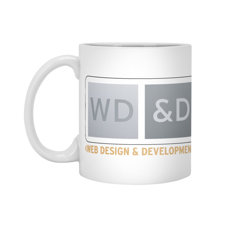 WD&D <WEB DESIGN & DEVELOPMENT> Accessories Standard Mug by Logo Gear & Logo Wear