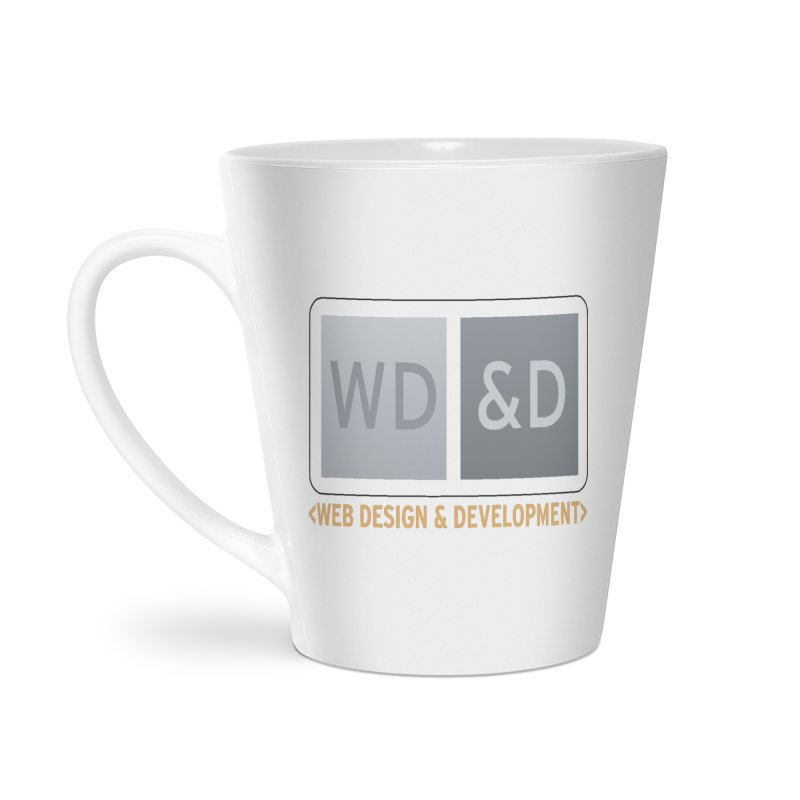 WD&D <WEB DESIGN & DEVELOPMENT> Accessories Latte Mug by Logo Gear & Logo Wear