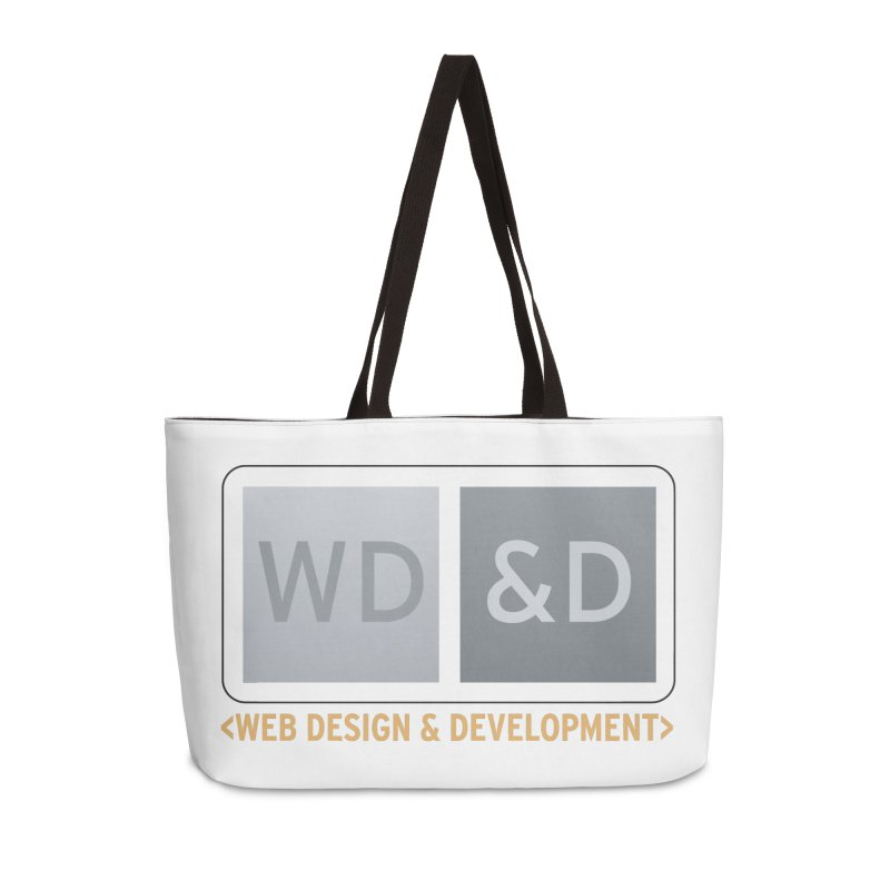 WD&D <WEB DESIGN & DEVELOPMENT> Accessories Weekender Bag Bag by Logo Gear & Logo Wear