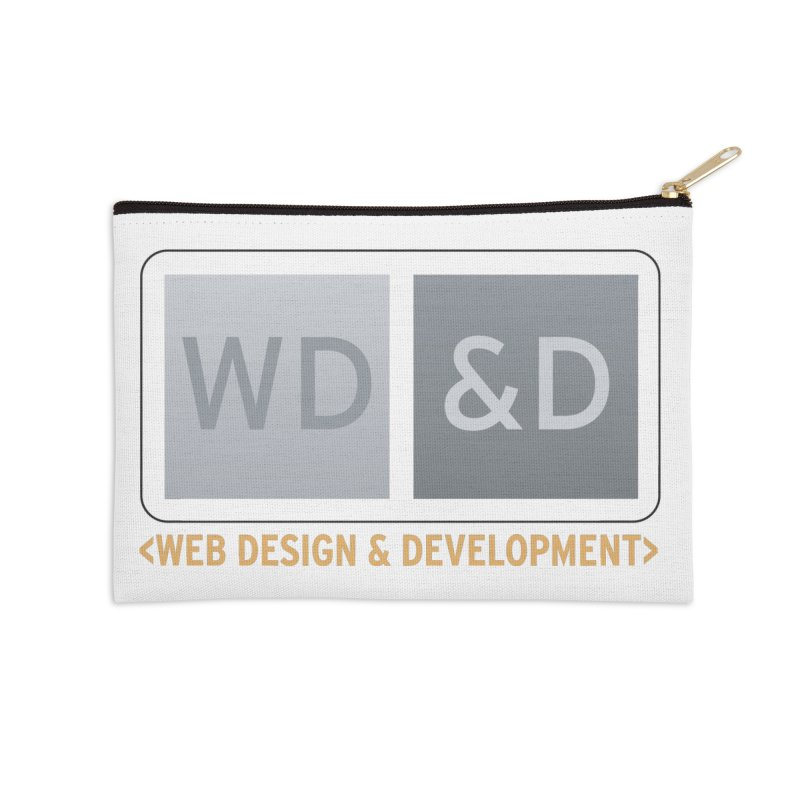 WD&D <WEB DESIGN & DEVELOPMENT> Accessories Zip Pouch by Logo Gear & Logo Wear
