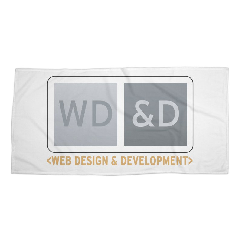 WD&D <WEB DESIGN & DEVELOPMENT> Accessories Beach Towel by Logo Gear & Logo Wear