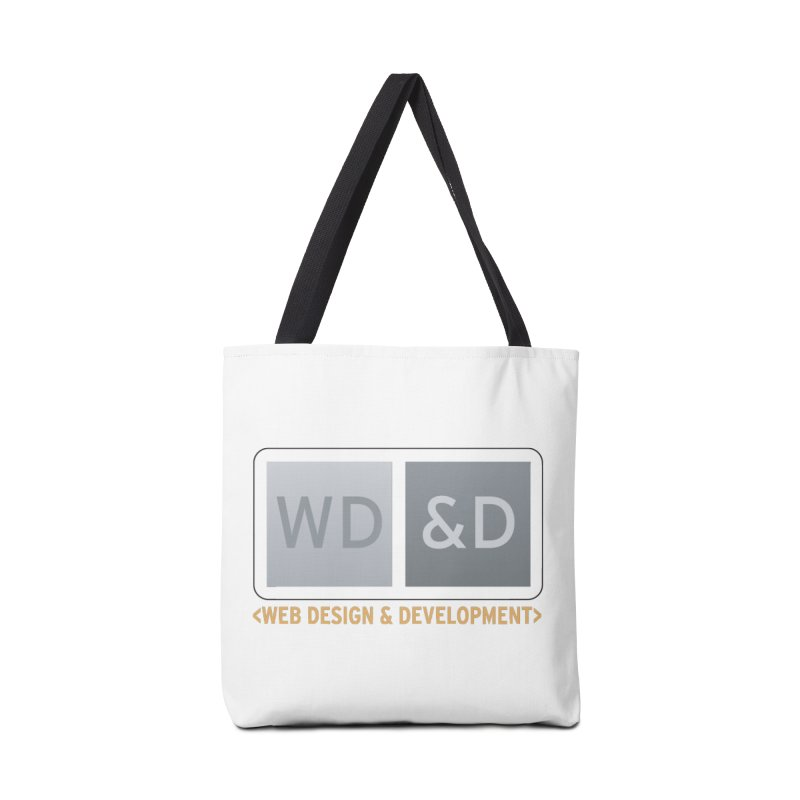 WD&D <WEB DESIGN & DEVELOPMENT> Accessories Tote Bag Bag by Logo Gear & Logo Wear