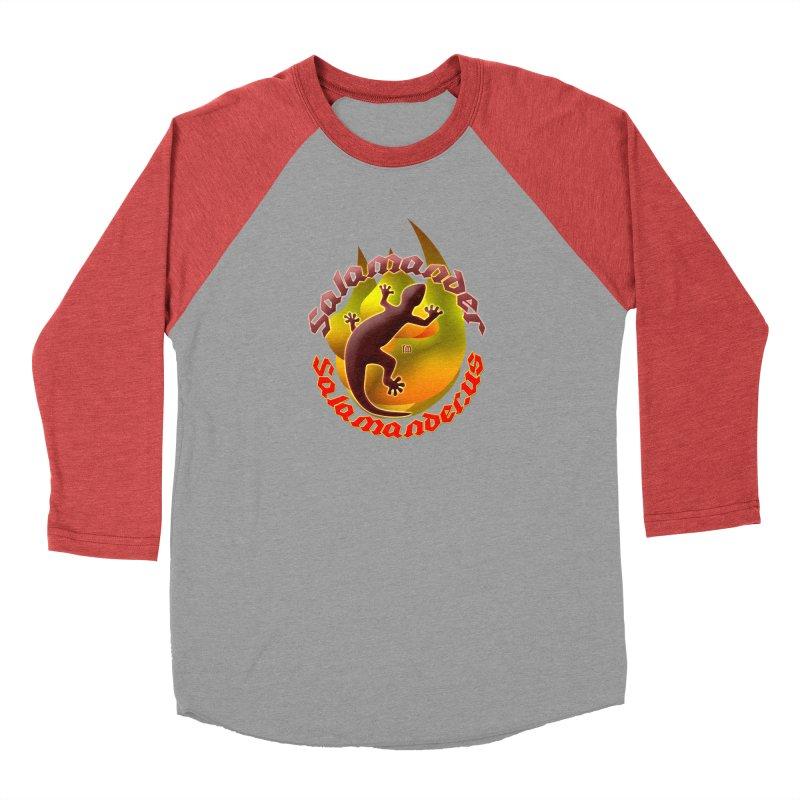 Salamander logo (small flame) Women's Baseball Triblend Longsleeve T-Shirt by Logo Gear & Logo Wear