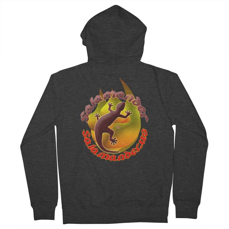 Salamander logo (small flame) Women's French Terry Zip-Up Hoody by Logo Gear & Logo Wear