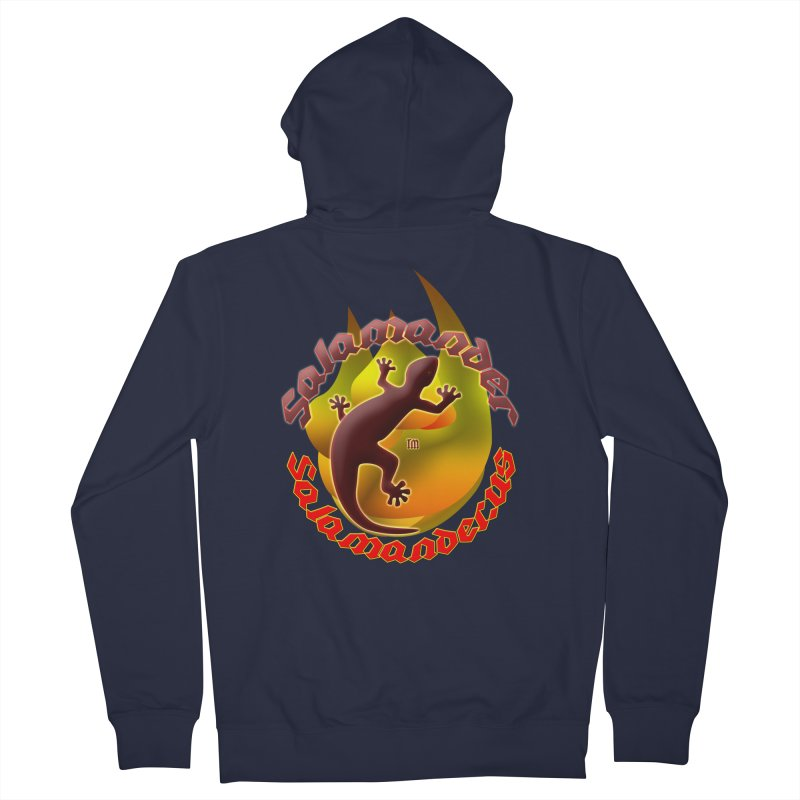 Salamander logo (small flame) Women's French Terry Zip-Up Hoody by Logo Gear & Logo Wear