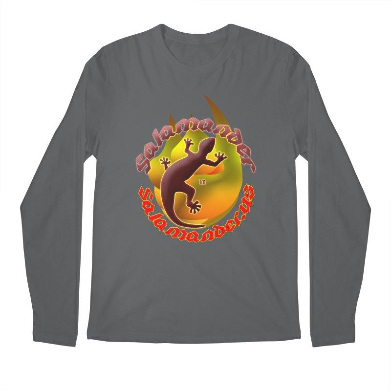 Salamander logo (small flame) Men's Longsleeve T-Shirt by Logo Gear & Logo Wear