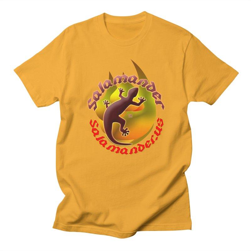 Salamander logo (small flame) Women's Unisex T-Shirt by Logo Gear & Logo Wear