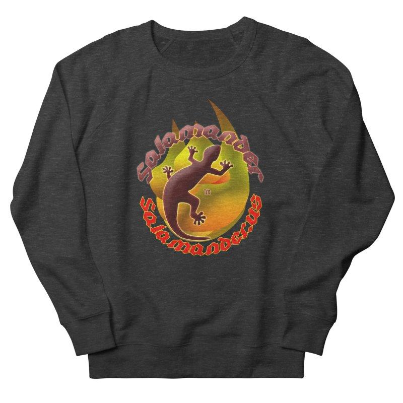 Salamander logo (small flame) Women's Sweatshirt by Logo Gear & Logo Wear